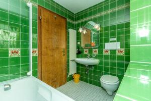 Badezimmer im Altenburger Hof, Appartment Typ B